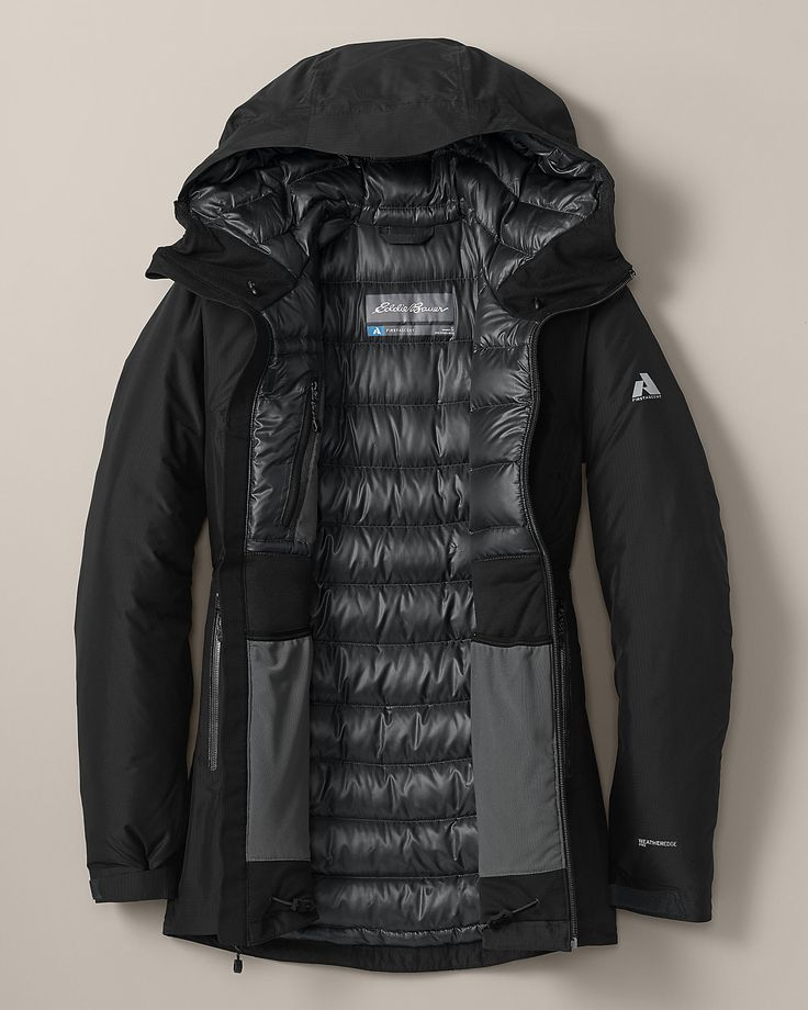 Great coat for walking the dog in Chicago Winters! Bc Downlight® Stormdown™  Jacket