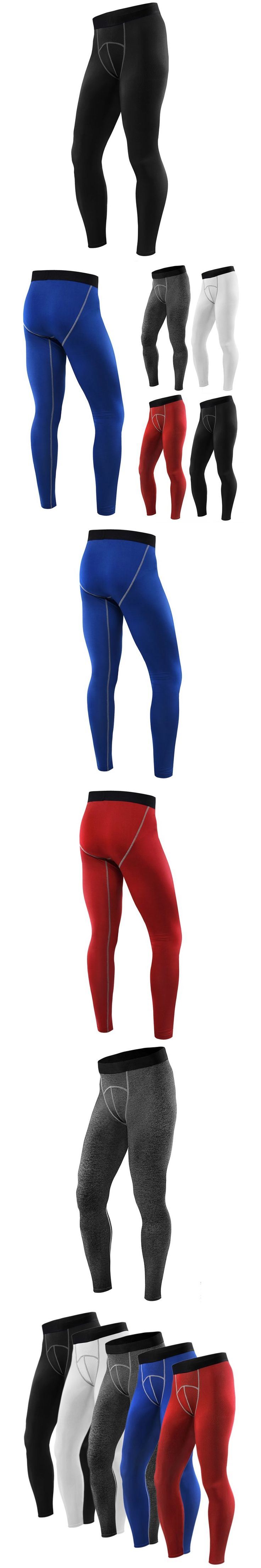 Apparel Male Compression Tights Pants Trousers Sweatpant Quick-drying Men Compression Base Layer Pants Leggings Fitness Trousers