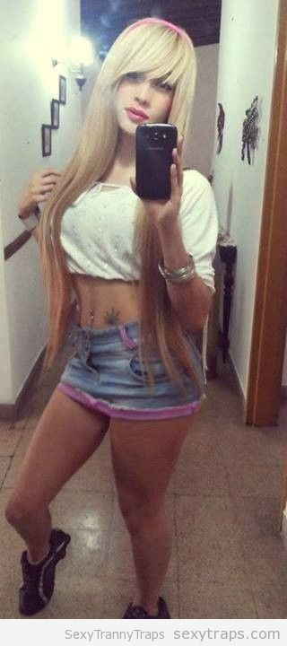 sexy tranny selfie