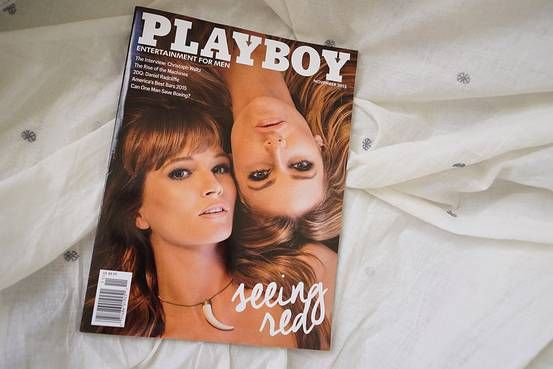 Playboy Enterprises is exploring a sale, a move that comes soon after the storied magazine publisher ditched nude photos and launched a revamp for the digital age. It could fetch north of $500 million.