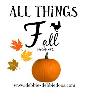 45+ All things Fall creative decor,crafts,recipes and more! - Debbiedoo's