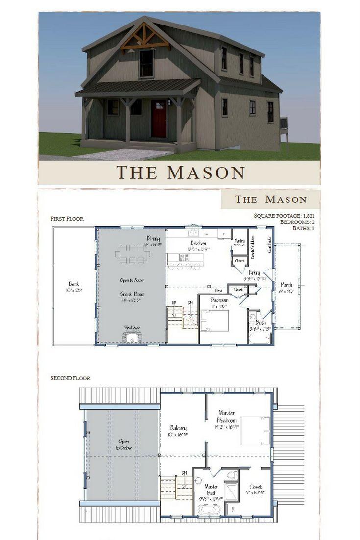 Mason Barn Home Ceilings Bath