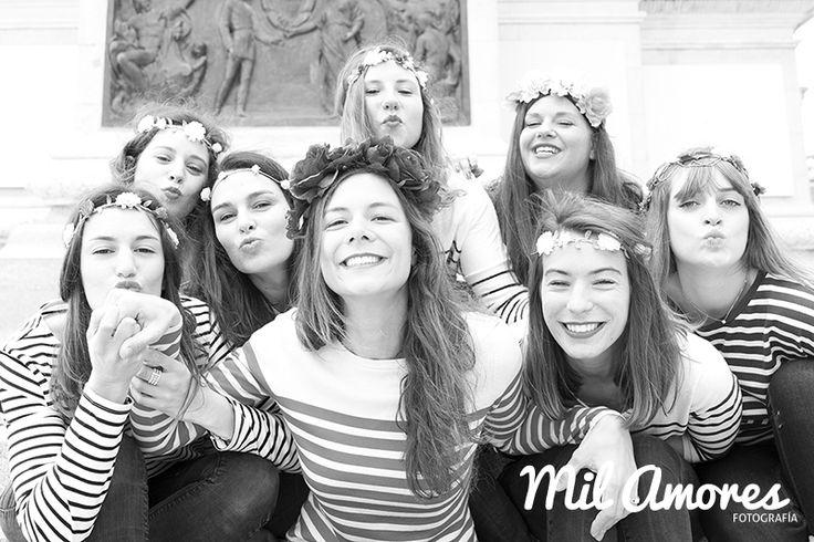 Book de fotos de recuerdo de despedida de soltera amigas Madrid