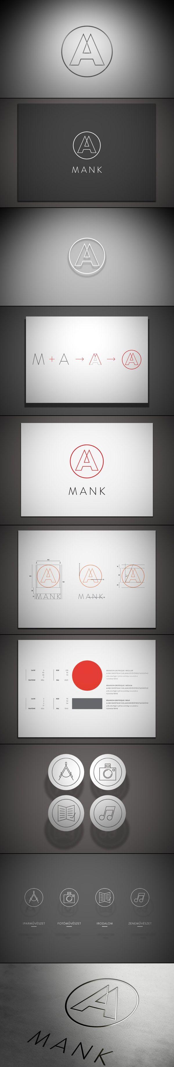 Mank Brand Identity.