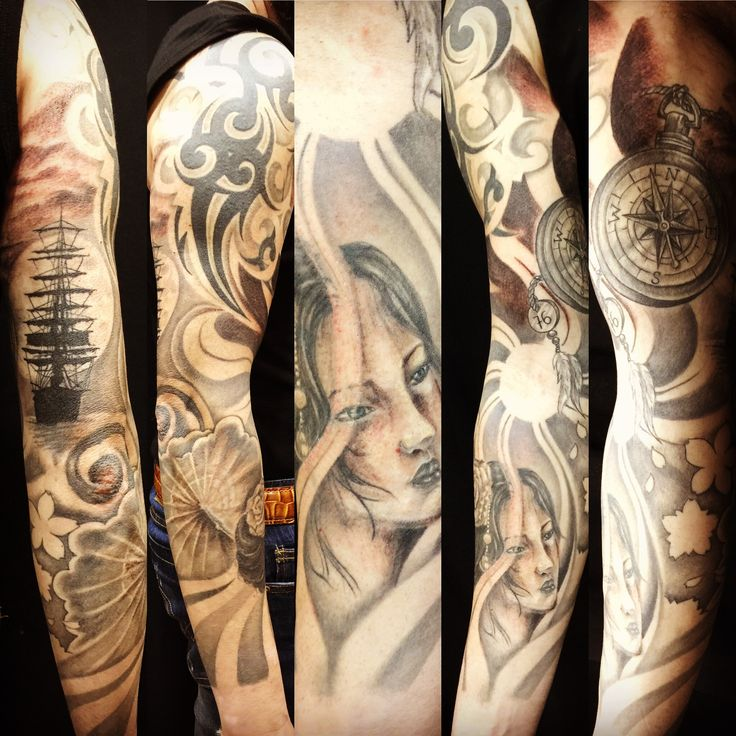 #robertoastore #tattooando #orientaltattoo #geisha #geishatattoo #veliero #giapanesetattoo #sailingshiptattoo #tattoo