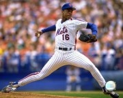 Just as Straw had the most graceful swing, Doc had the most gorgeous windup. It wasn't enough to keep him from derailing himself, but 1985 remains one of the most dominant seasons by any pitcher in history.: York Met, Doc Gooden, American Sports, Met Favorite, Favorite Athletic, American Baseb, Attention Athletic, Dwight Gooden, Sports Favorite