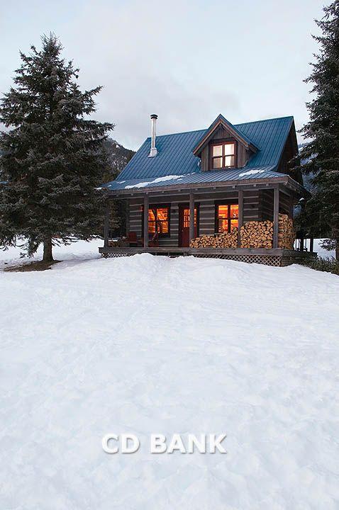 Log Cabin in the Woods | Log cabin in the woods Stock Photo | FAN2009241 | Fancy