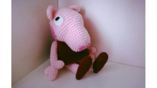 Peppa Pig #crochet #ganchillo #peppapig
