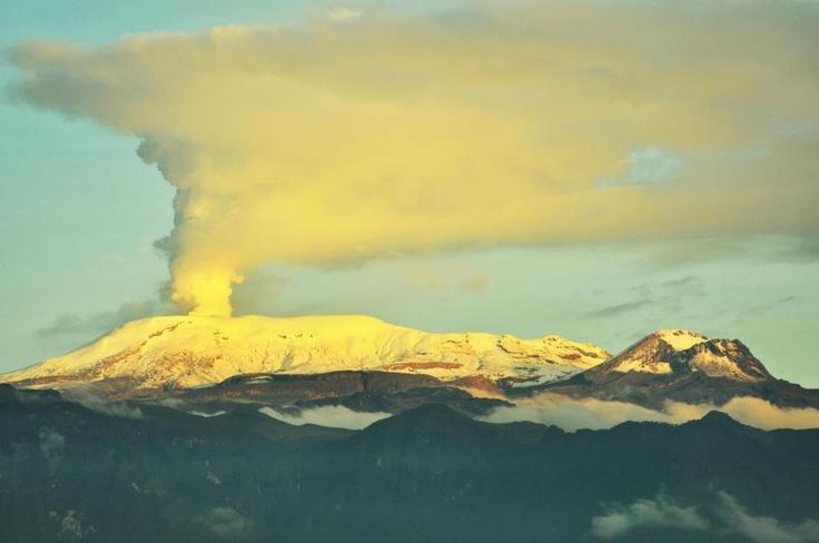 Volcán Nevado de Ruiz. Manizales - Colombia