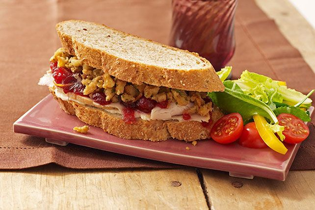 Sliced turkey, stuffing, cranberry sauce? Check, check, check! This video shows you how to use leftovers to make the perfect post-Thanksgiving sandwich.