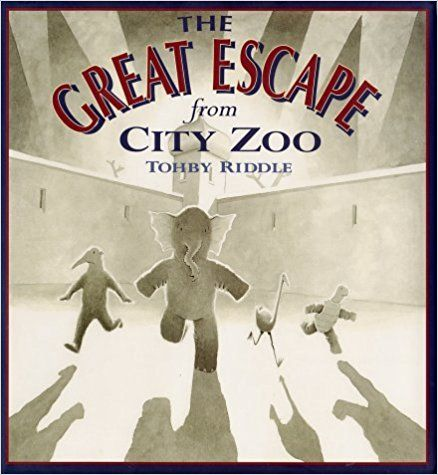 The Great Escape from City Zoo: Tohby Riddle: 9780374327767: Amazon.com: Books