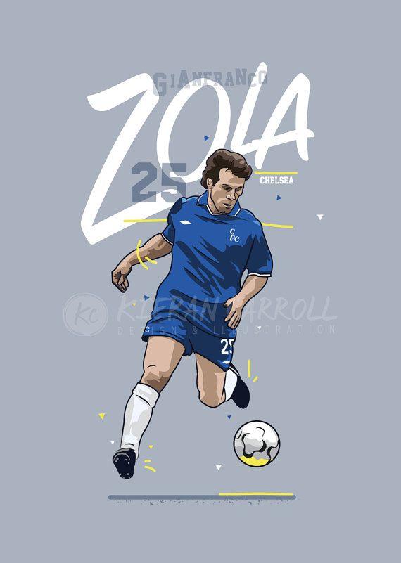 Pendant sept saisons Gianfranco Zola a captivé les supporters de Chelsea dans la mesure où il a été fait deux fois joueur de lannée et en 2003, a été voté comme le club du plus grand jamais joueur, avec 60 % des suffrages dans un sondage sur le site officiel de Chelsea. Il a aidé à remporter quatre trophées et a marqué le gagnant dans Cup Final quelques secondes le 1998 European Cup Winners après en tant que membre suppléant. Dans tous les Franco, a marqué 80 buts en 312 matchs, avec…
