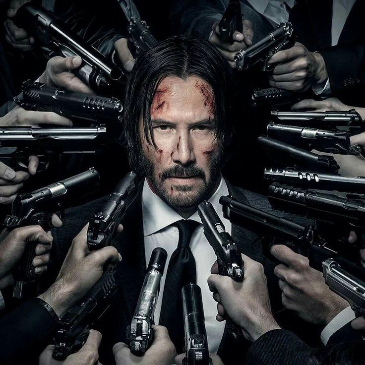 Keanu Reeves John Wick Chapter 2 Under The Gun