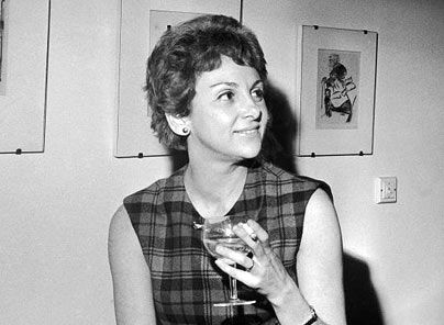 Elaine Dundy in 1962