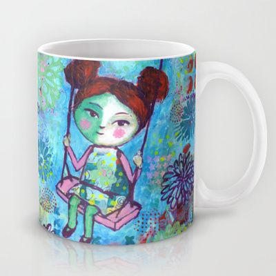 The Swing Mug by Stina Glaas - $15.00