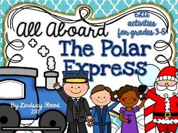 The Polar Express for Big Kids {3rd, 4th, 5th Grade} ELA