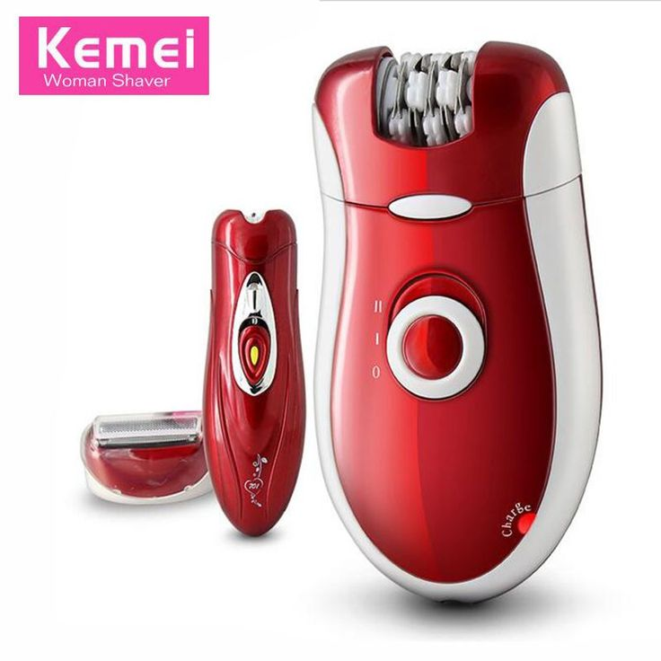 Original Kemei 3 In 1 Rechargeable Hair Removal Epilator Women Shaving Wool Device Knife Care Body Face lady Shaver KM-3068 #HairCareAppliances
