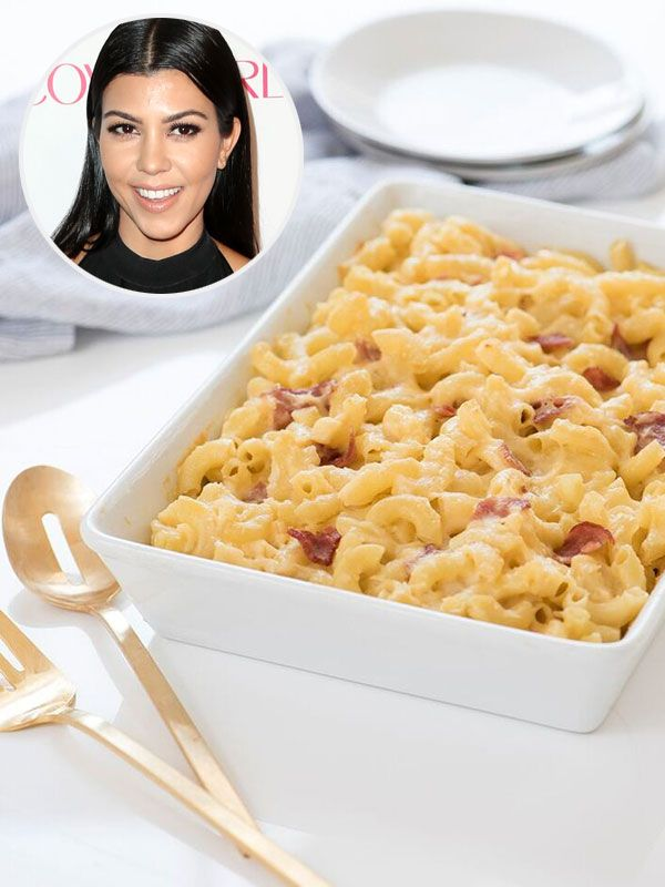 Kourtney Kardashian Shares Her 'Perfect Comfort Food' Recipe: Mac and Cheese with Turkey Bacon
