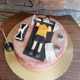 Sporcu Spor Birthday Geburtstag Doğum günü Cake Torte Torta Boys