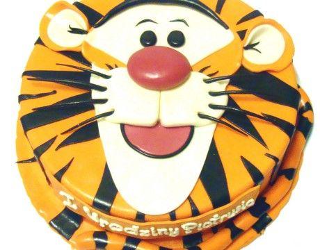 Torty Kraków Tort urodzinowy - Cukiernia Gateau Tort tygrysek #Tygrysek #cake, #tort, www.cukierniagateau.pl #urodziny