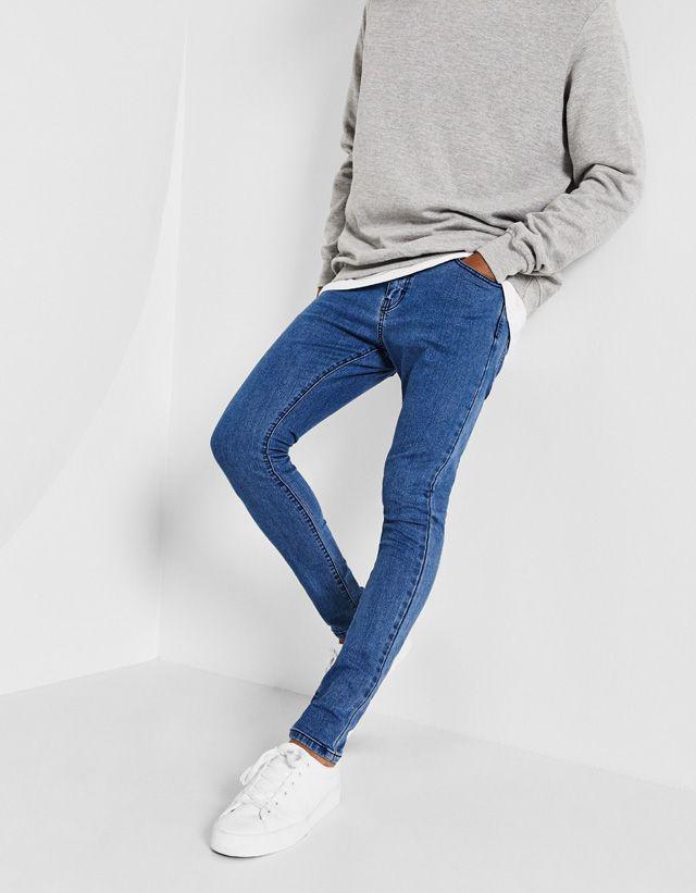 Jeans - ROPA - HOMBRE - Bershka Mexico