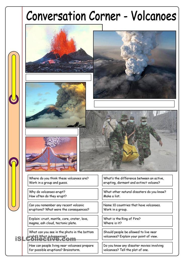 Conversation Corner: Volcanoes