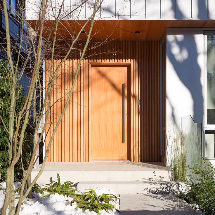 Best Contemporary Front Doors Images On Pinterest - Used front doors