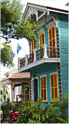 colorful new orleans homes - Google Search
