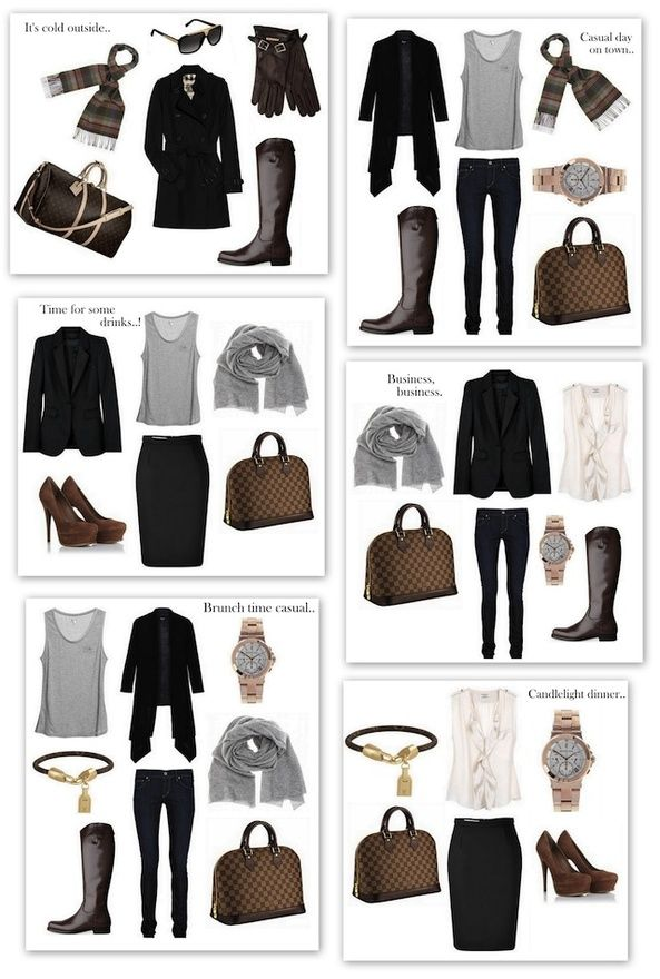 Weekend Getaway - the outfits,,