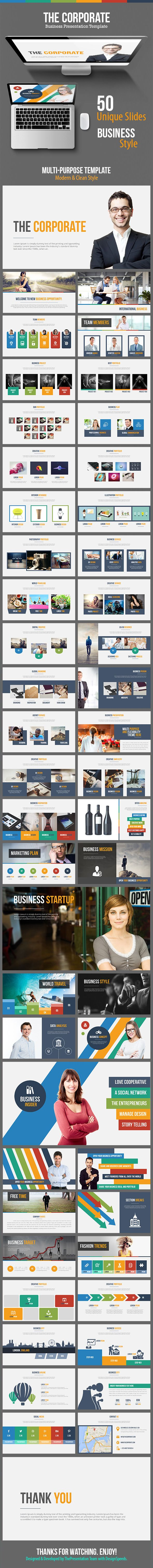 The Corporate - Business Keynote Template