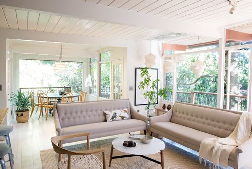 The Treehouse: The Living Room