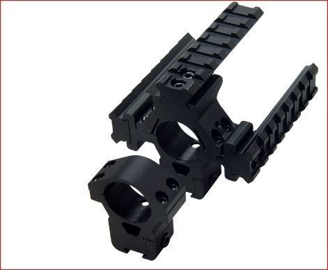 Leapers Tactical Scope Mounts Airgun Base+3 Weaver Rail