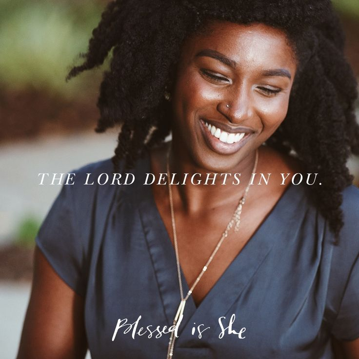 The Lord takes delight in His people, today's Psalm tells us. (Psalm 149:4) For most of my life, I thought I believed it—without actually believing it. // Read more of today's daily devotion on blessedisshe.net // daily devotional for women // daily scripture quotes