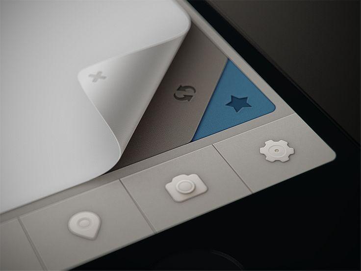 Qiwy app UI by Mikael Eidenberg