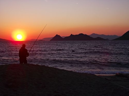 Turgutreis sunset from Natalie Sayins list of Top Ten Holiday destinations in Turkey