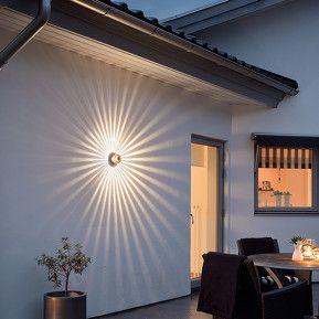 Applique d'extérieur LED de couleur cuivre Monza