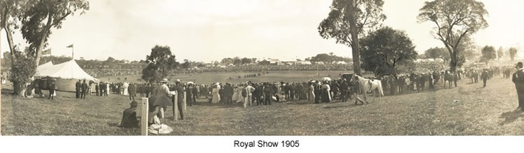 Perth - Perth Royal Show 1905