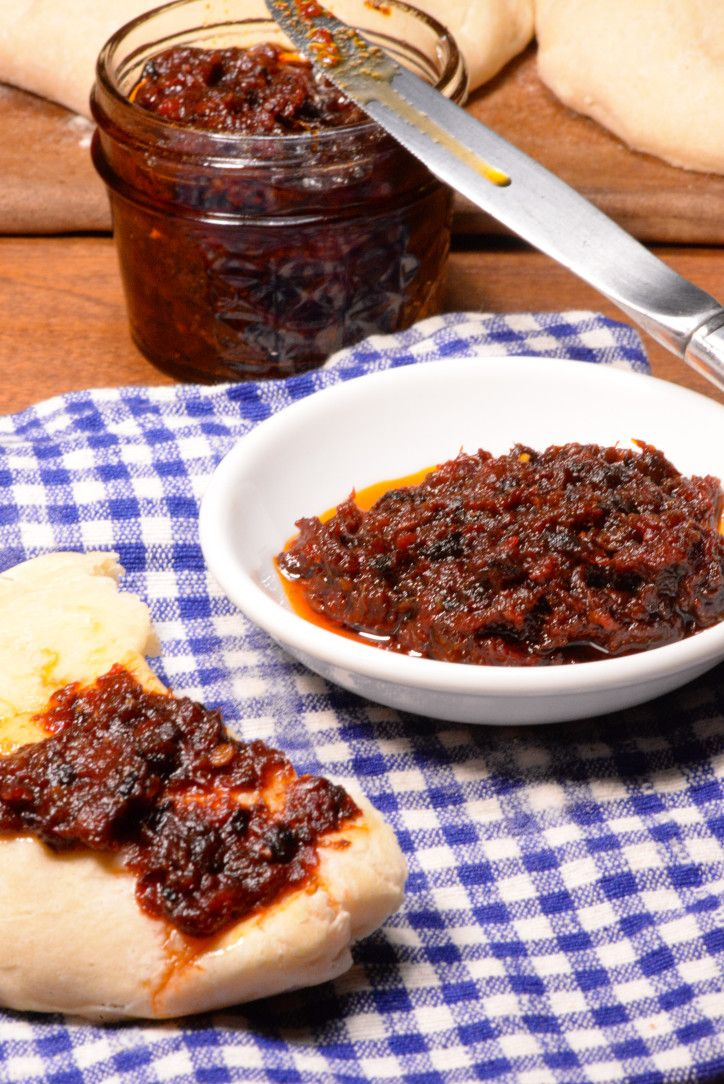 Kosovo avjar is a staple found on nearly every table in for Albanian cuisine