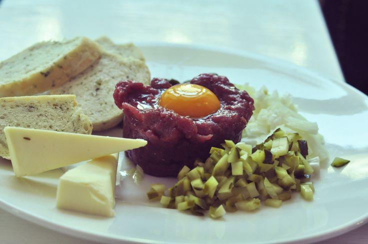 beef tartare/tatar wołowy @Punkt Sporny Club&Restaurant