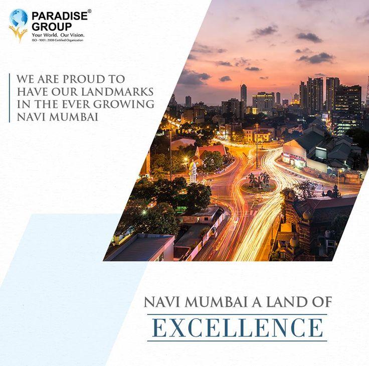 #NaviMumbaiTrivia  Navi Mumbai - A land of Excellence  www.paradisegroup.co.in  Contact: 022 2783 1000  #paradise #paradisebuilders #realestate #luxury #luxurioushouse #realtor #propertymanagement #bestpropertyrates #homesellers #bestexperience #homebuyers #dreamhome #mumbai