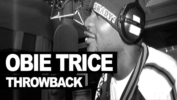 Obie Trice freestyle on Without Me in 2003 - never seen before