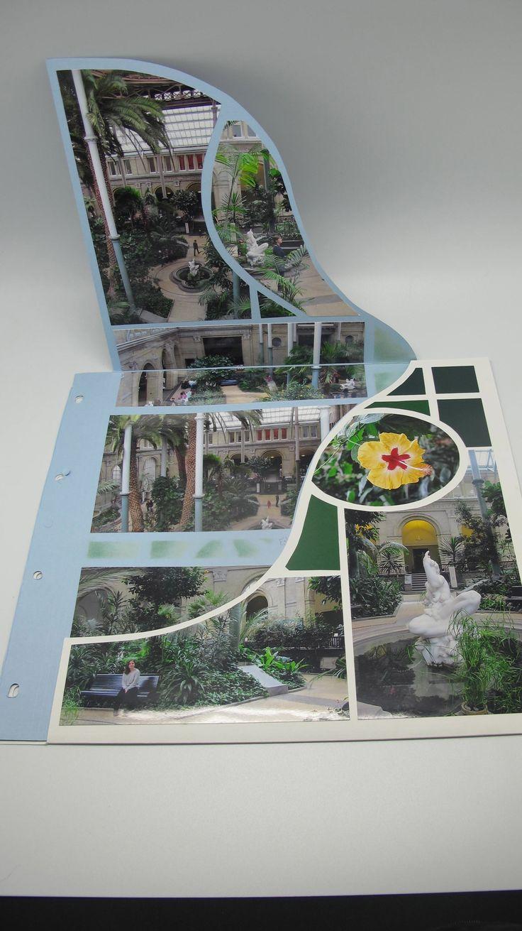 Vietnam scrapbook ideas - Gabarit Vitrail