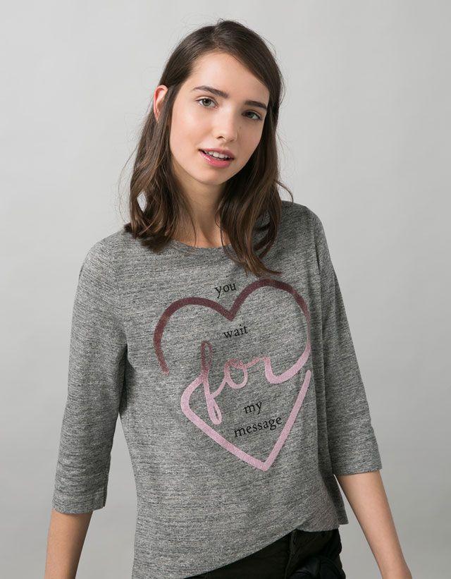Camisetas - BERSHKA - Chica - Bershka Maroc