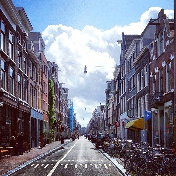 Haarlemmerdijk   one of the best streets in Amsterdam to shop and have lunch