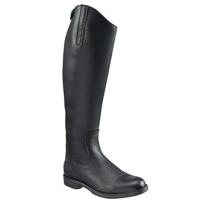 Bottes, boots Equitation - Bottes d'équitation JOAO mollet M FOUGANZA - Equipement du cavalier BLACK