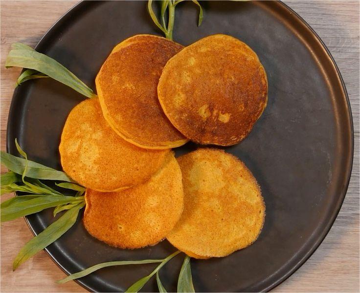 Des pancakes pour déguster la patate douce autrement.