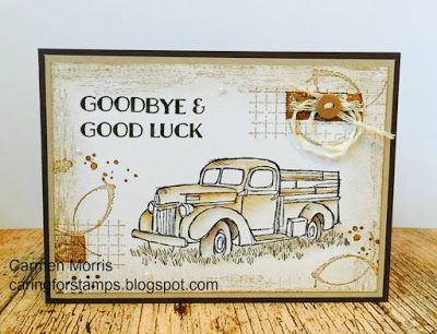 Caring for Stamps: Vintage Friday # 59: Stampin 'Up! ~ Country Livin '