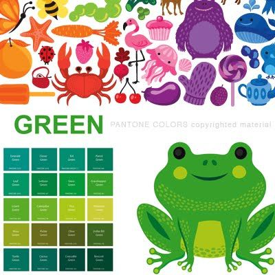 helen dardik from the book pantone colors - Books About The Color Green
