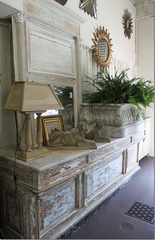 Distressed furniture - nice .... #houses come inside ...