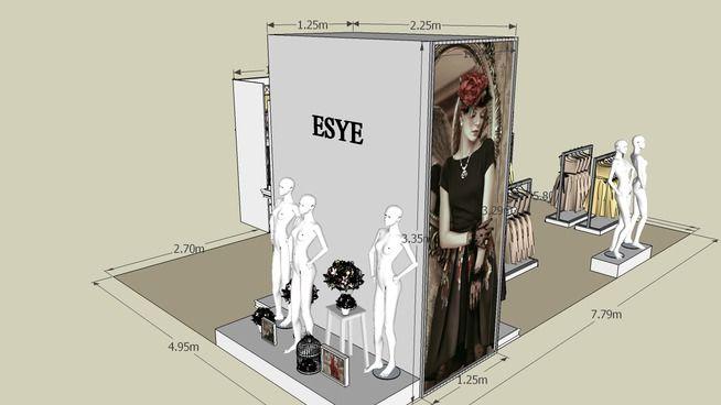ESYE @ Metro Taman Anggrek - 3D Warehouse